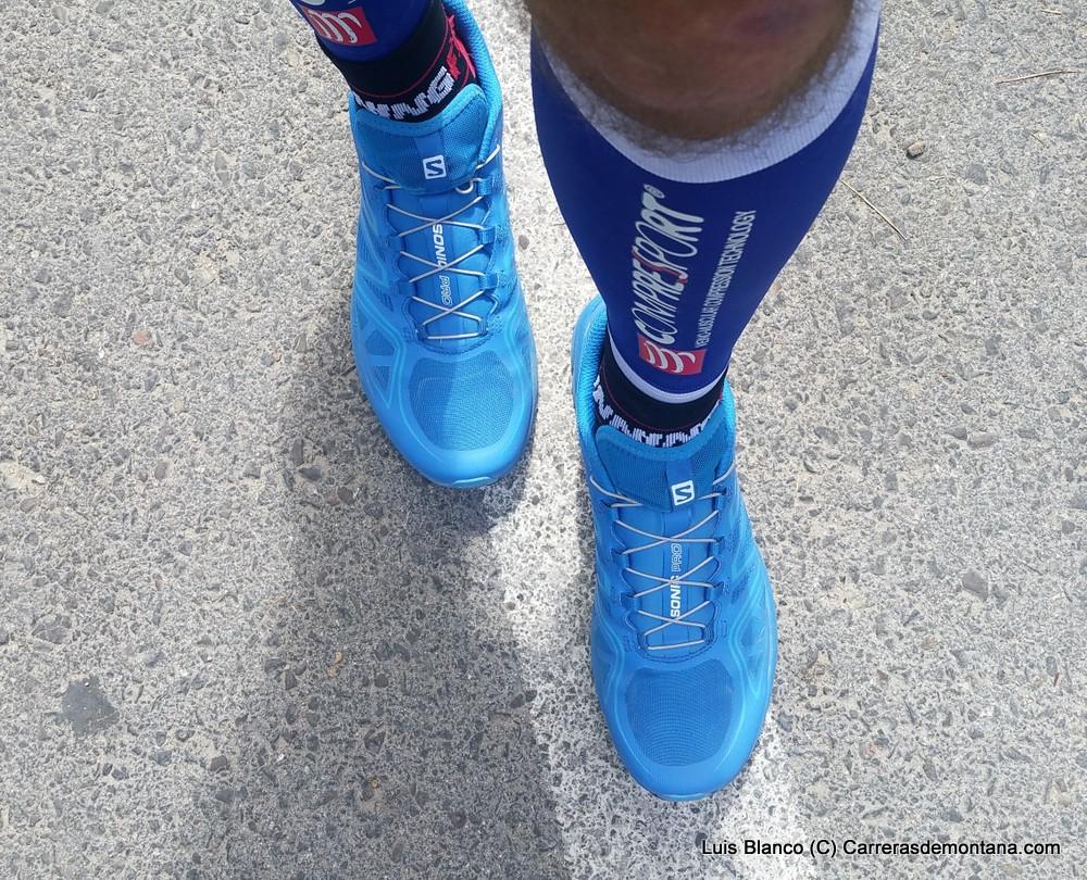Salomon Sonic Pro  zapatillas running asfalto. Análisis Mayayo y prueba  200km por Luis Blanco.  ba5830ac47