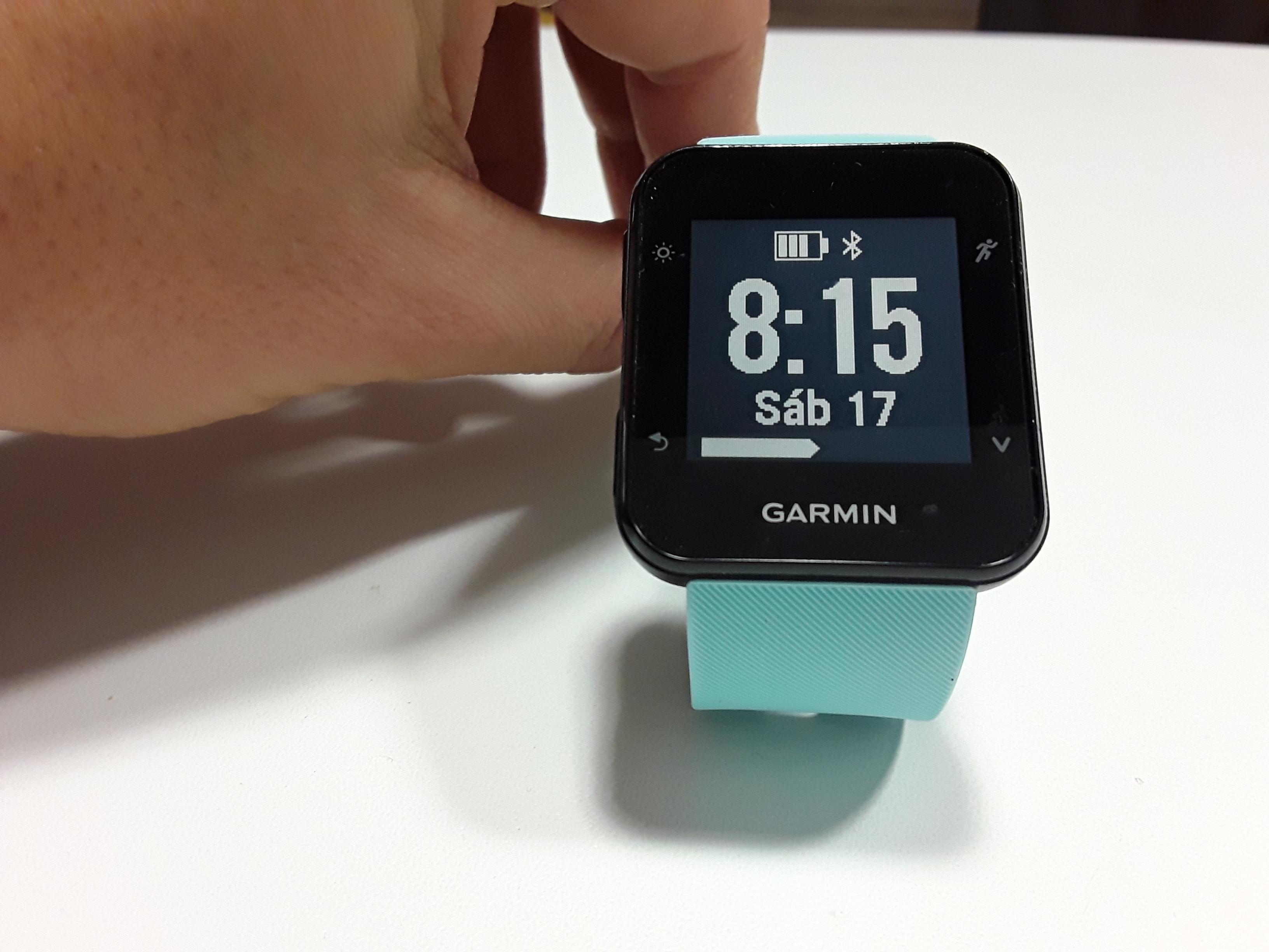 84904d9babc5 GARMIN FORERUNNER 35: RELOJ GPS RUNNING. (200€, Batería 13h, Peso ...