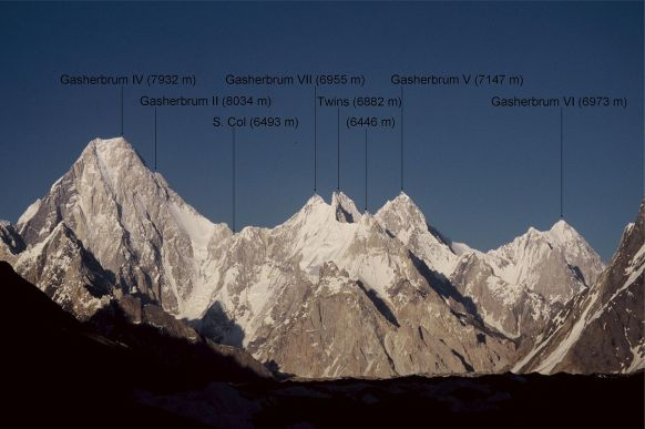 Gasherbrum foto