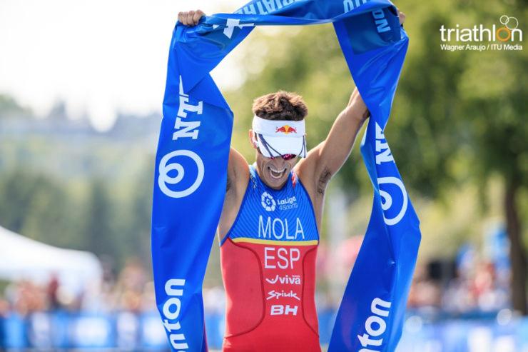 Triatlón: Mario Mola gana Edmonton y se destaca como líder Copa del Mundo WTS. Fernando Alarza y Javier Gómez Noya completan podio ranking 2017.
