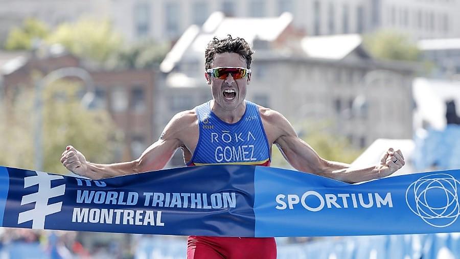 Triatlón Montreal Copa del Mundo WTS: Ganan Gómez Noya y Gentle. Mario Mola lidera ranking. Crónica, rdos y fotos.
