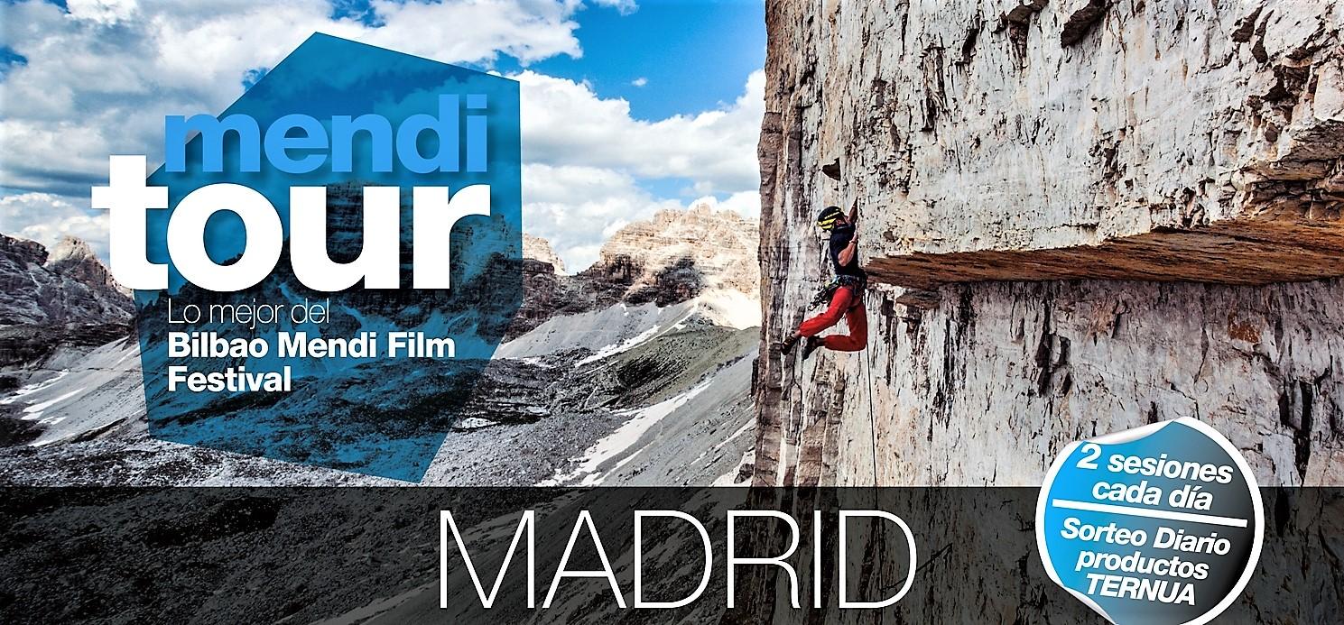 MONTAÑA Y CINE: MENDI TOUR MADRID (23-26OCT) 11 PELÍCULAS DE MONTAÑA +DÉCIMA EDICIÓN BILBAO MENDIFILM 8-17DIC