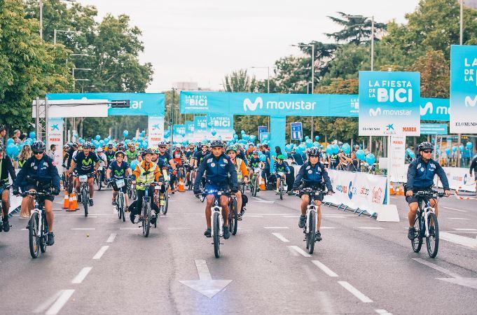 DIA DE LA BICICLETA: Edición número 39 de la gran fiesta del ciclismo popular en Madrid.