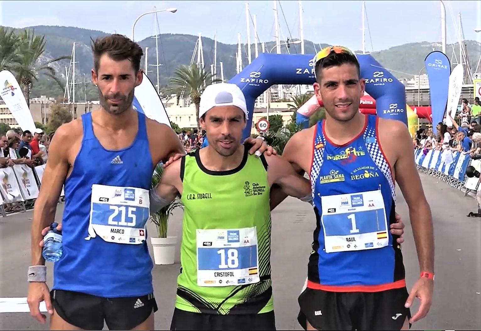 Palma Mallorca Marathon 2017: Ganan Tófol Castanyer y Rosaura Casado, campeones España Maratón Veteranos RFEA. Videos, crónica y resultados.