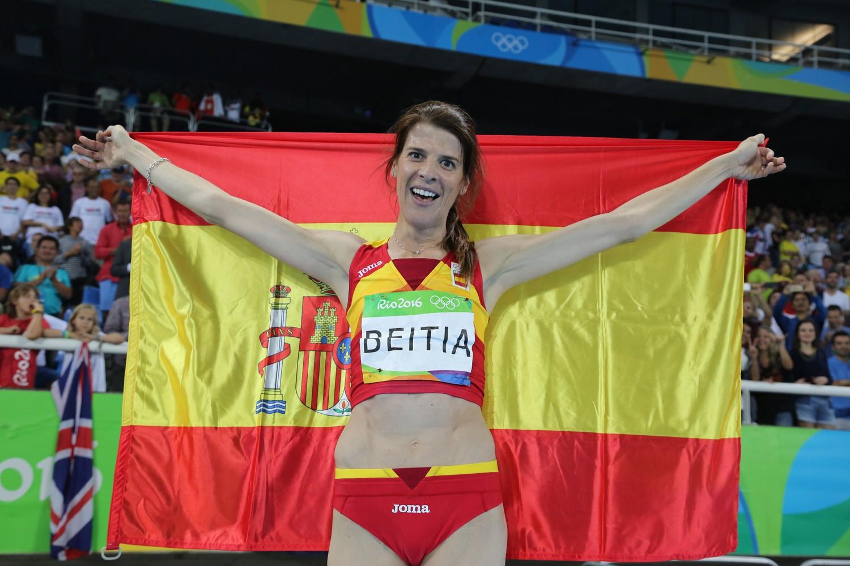 RUTH BEITIA ANUNCIA SU RETIRADA DEL ATLETISMO COMPETICIÓN: ORO EN RÍO 2016, LA MEJOR ATLETA ESPAÑOLA DE LA HISTORIA.