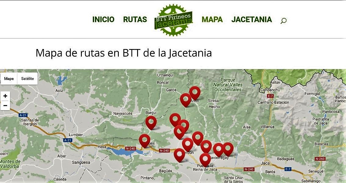 BTT PIRINEOS JACETANIA: RUTAS EN BICICLETA DE MONTAÑA PARA COMPARTIR EN ANSÓ, PUENTE LA REINA, ARTIEDA Y MÁS…
