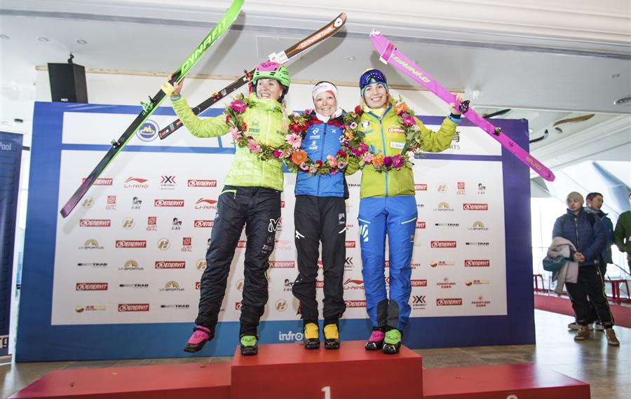 Skimo Copa del Mundo ISMF 2017-2018 arranca en Wanlong, China: Anton Palzer y Axelle Mollaret ganan la Vertical. Claudia Galicia y Antonio Alcalde, plata.