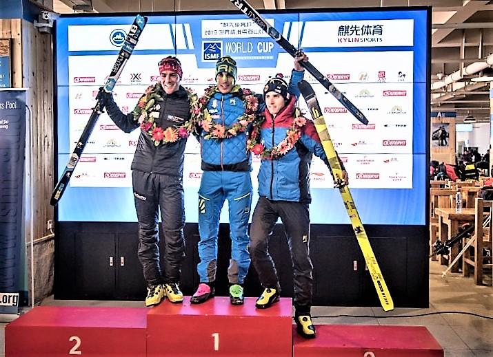 Skimo Copa del Mundo ISMF 2017-2018 Sprint en Wanlong, China: Ganan Nicolò Canclini y Laetitia Roux, con plata para Claudia Galicia y Oriol Cardona