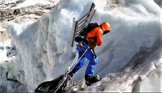 Everest invernal 2018 alex txikon cascada khumbu