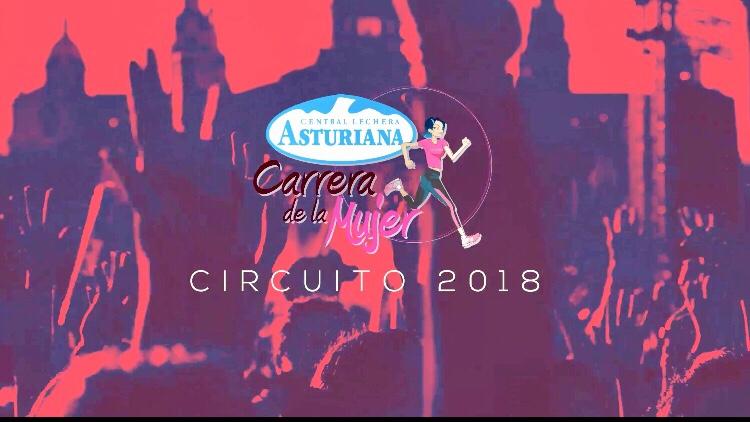 CARRERA DE LA MUJER 2018, CALENDARIO: Valencia, Madrid, Vitoria, Gijón, A Coruña, Sevilla, Zaragoza y Barcelona.