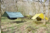 Tarp SuperLight 3 x 2,9 m Amarillo DD Hammocks 1