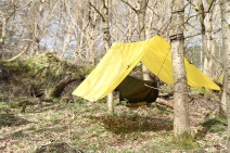 Tarp SuperLight 3 x 2,9 m Amarillo DD Hammocks 2