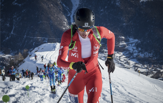 Kilian Jornet campeon copa del mundo skimo vertical en francia