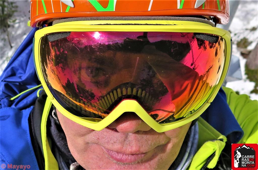 MASCARA ESQUI BOLLE TSAR: PRUEBA DE UN AÑO. Esqui alpino, esquí nórdico y skimo, por Mayayo.