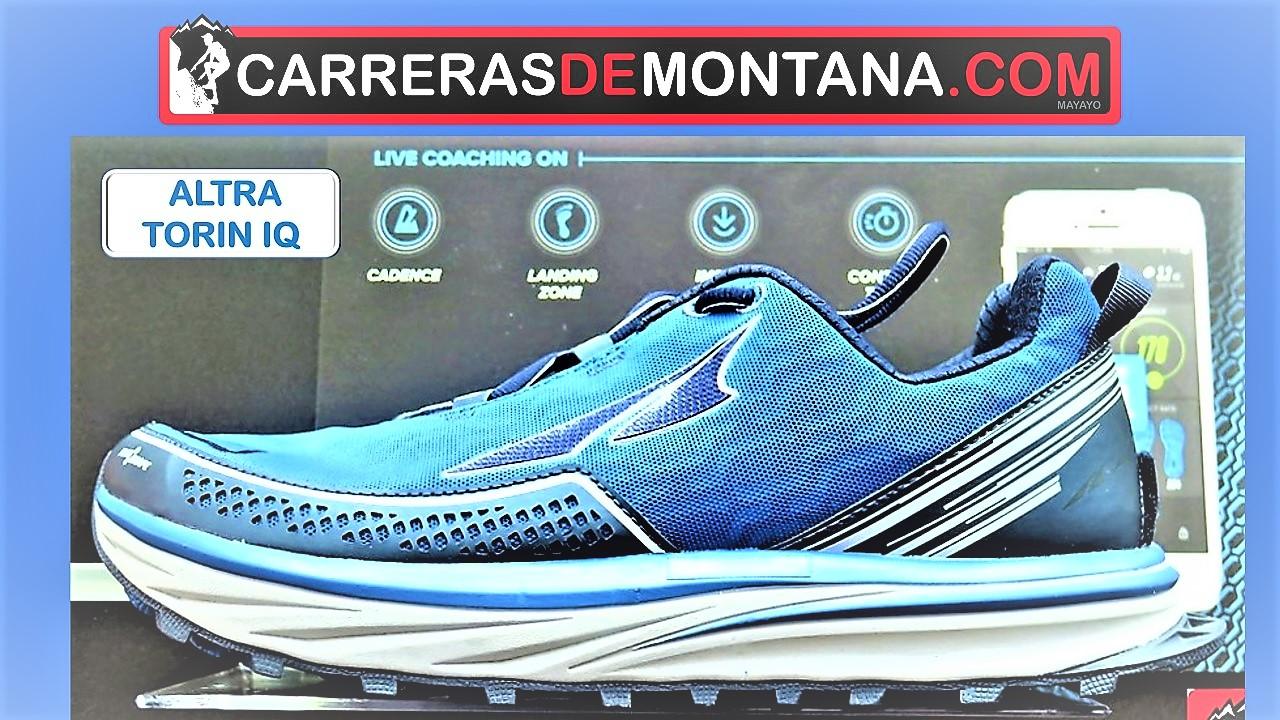 ALTRA TORIN IQ (264gr/Drop cero): ZAPATILLAS RUNNING CON CHIP ENTRENADOR INTEGRADO. Análisis por Mayayo.