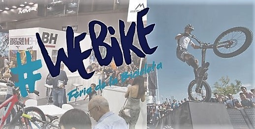 NUEVA FERIA DE LA BICICLETA EN ESPAÑA: WEBIKE. Ifema-Madrid (7-9SEP)