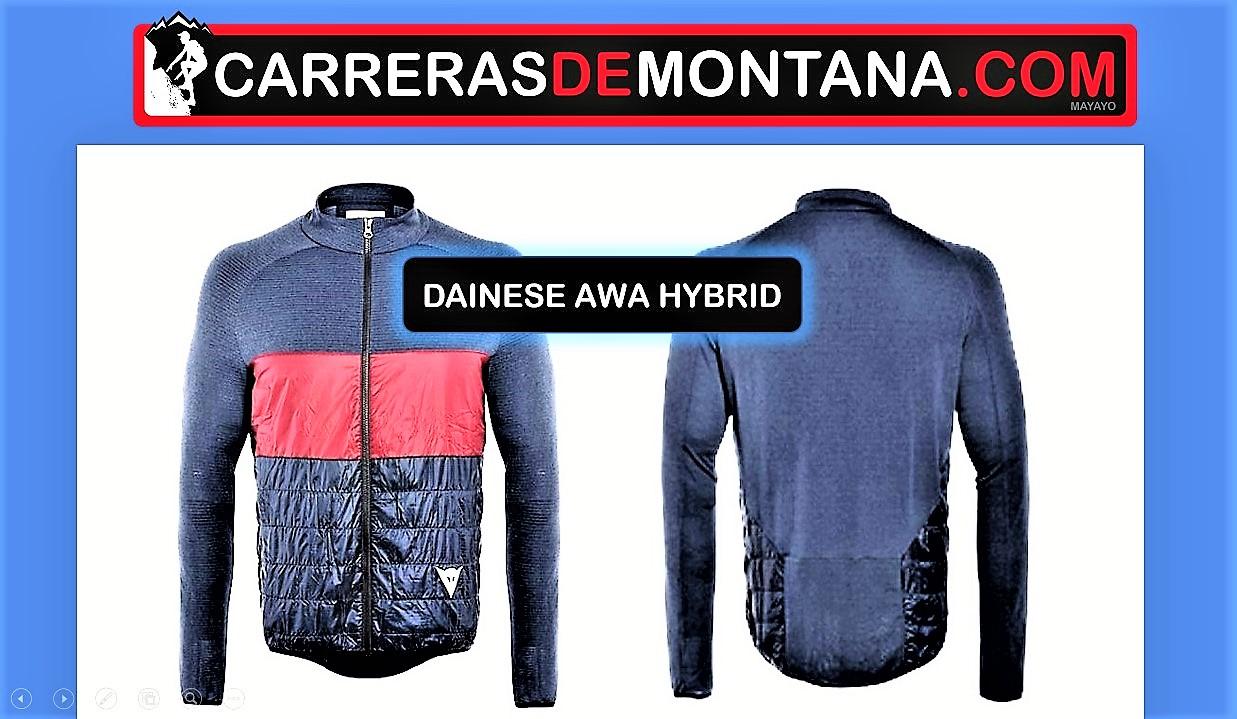 Cortavientos ciclismo Dainese Awa Hybrid Jacket: Análisis por Mayayo y alternativas.
