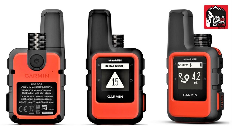 GARMIN INREACH MINI: GPS, CONTACTO DIRECTO Y SOS INTERACTIVO, EN 120 GRAMOS. CONECTABLE AL GARMIN FÉNIX.