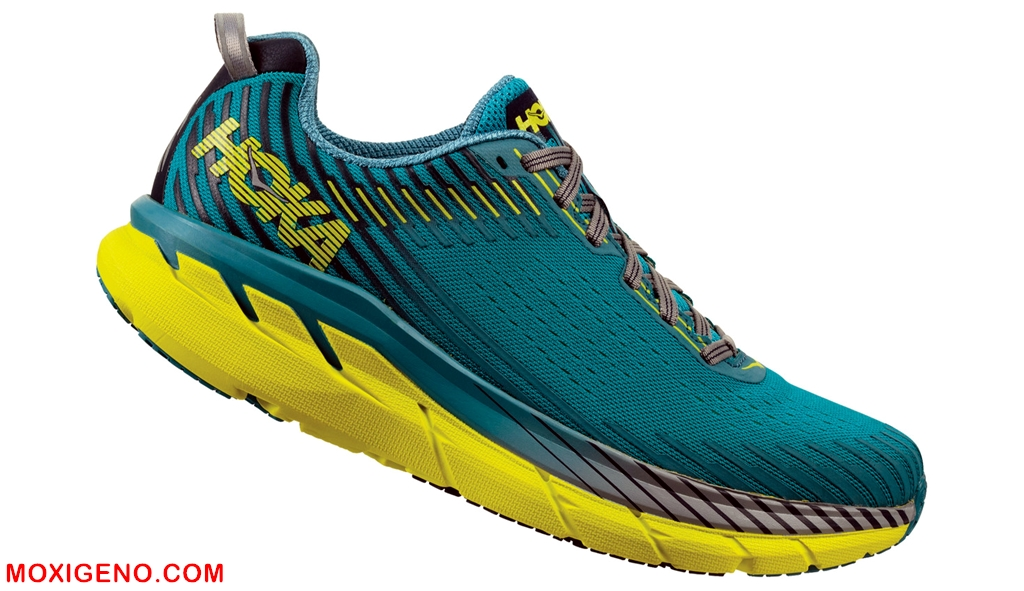 HOKA ONE ONE CLIFTON 5 (265gr/Drop5mm/Amortiguación 24mm-29mm): Zapatillas running maximalistas. Análisis técnico y alternativas, por Mayayo.