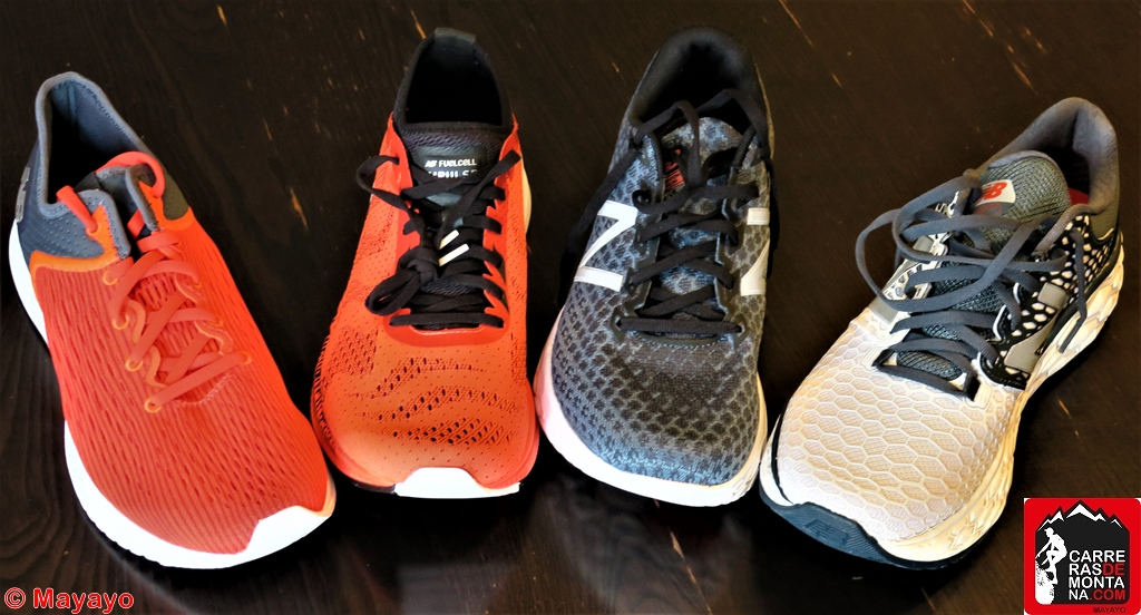 New Balance Zapatillas Running 2018: Destacamos NB Fuelcell Impulse, NB Fuelcore 5000, NB Beacon y NB Vongo V3. Análisis por Mayayo.
