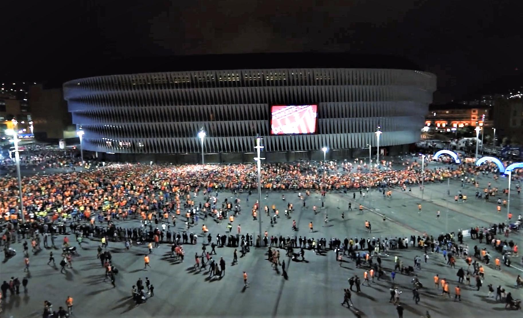 Bilbao Night Marathon 2018 (20-OCT) Doce mil dorsales en la décima edición del único maratón nocturno RFEA. Carreras 10k-21k-42k