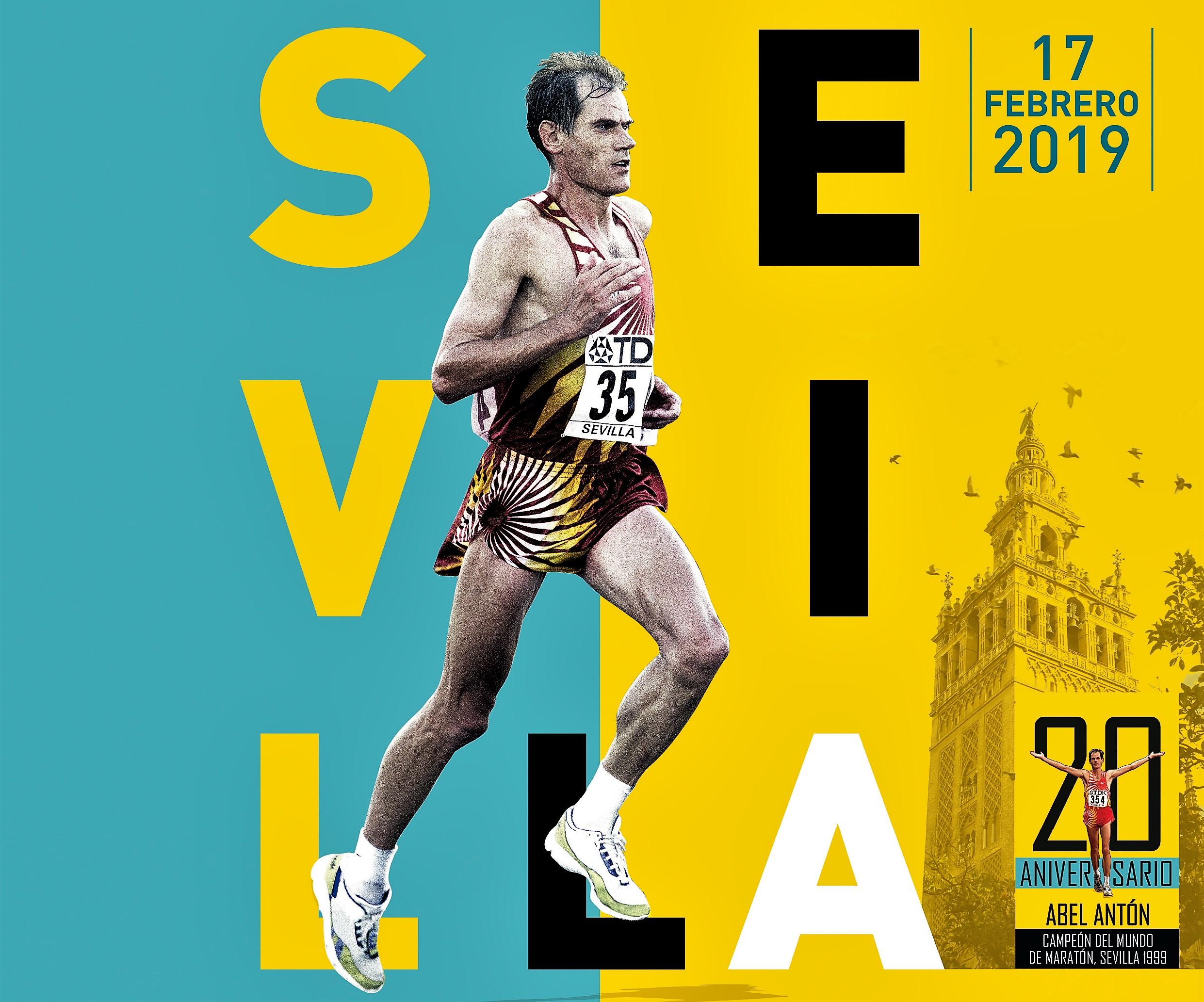 Maratón Sevilla 2.019 (17Feb) 14.000 dorsales, con sello oro IAAF. Homenaje Abel Antón y debut maraton para Fermín Cacho,