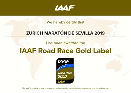 - IAAF Gold Label