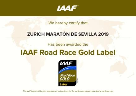 - IAAF Gold Label