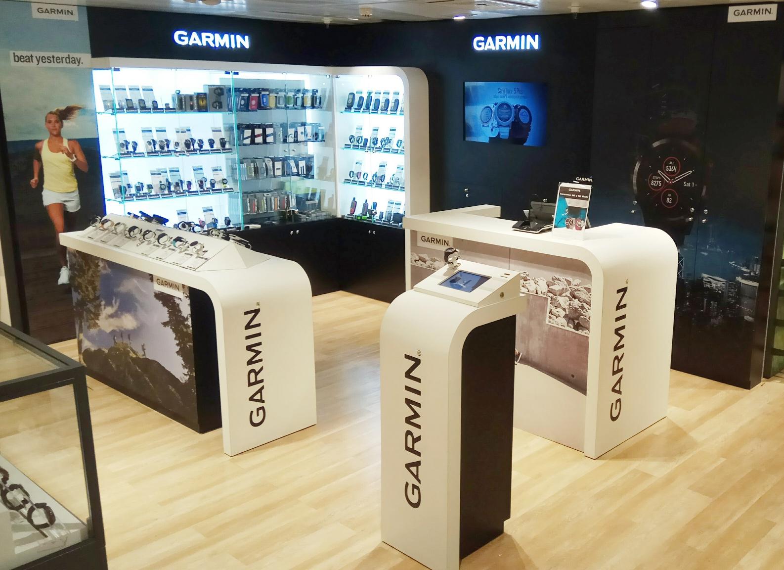 3d3f621a31 Tienda Garmin Madrid: Abierta en Corte Inglés Pozuelo de Alarcón. Más Garmin  Store de la marca en España.   MOXIGENO.COM, por Mayayo.