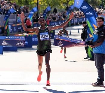 Lelisa desisa gana Maraton Nueva York 2018 fotos NYC Marathon 9