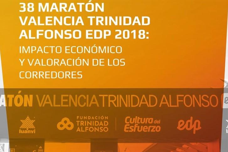 Maratón Valencia, una gran palanca para la economía: Maratón Valencia 2018 generó más de 186.000 pernoctas y aportó 18 millones de euros en gasto turístico