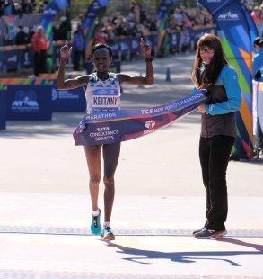 Mary Keitany gana Maraton Nueva York 2018 fotos NYC Marathon 9