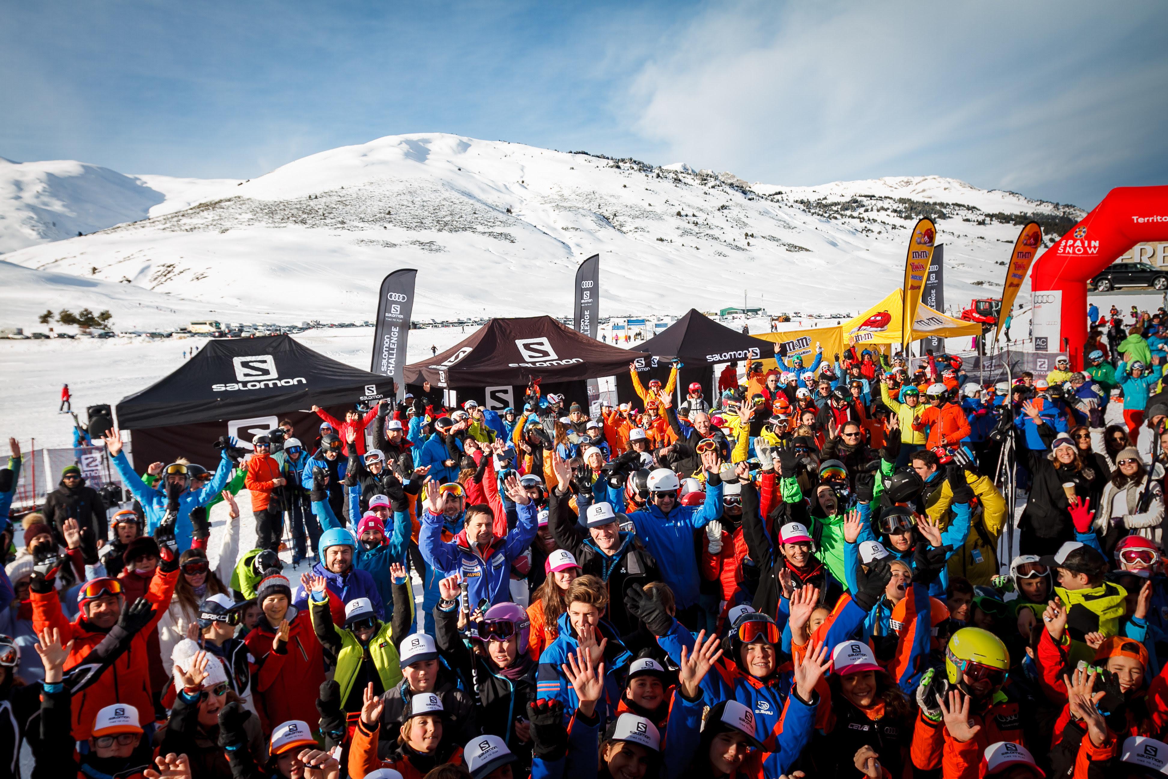 Esquí: Salomon Quest Challenge 2019 arranca en Baqueira Beret (29dic) y Masella (8ene). Competición popular por equipos.