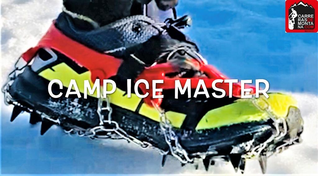 Camp Ice Master: Crampones ligeros para trekking y carreras de montaña. Análisis tecnico y como usarlos, por Mayayo.