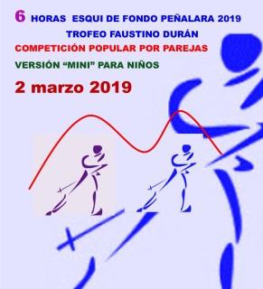 esqui de fondo navafria 6h peñalara 2019 2marzo