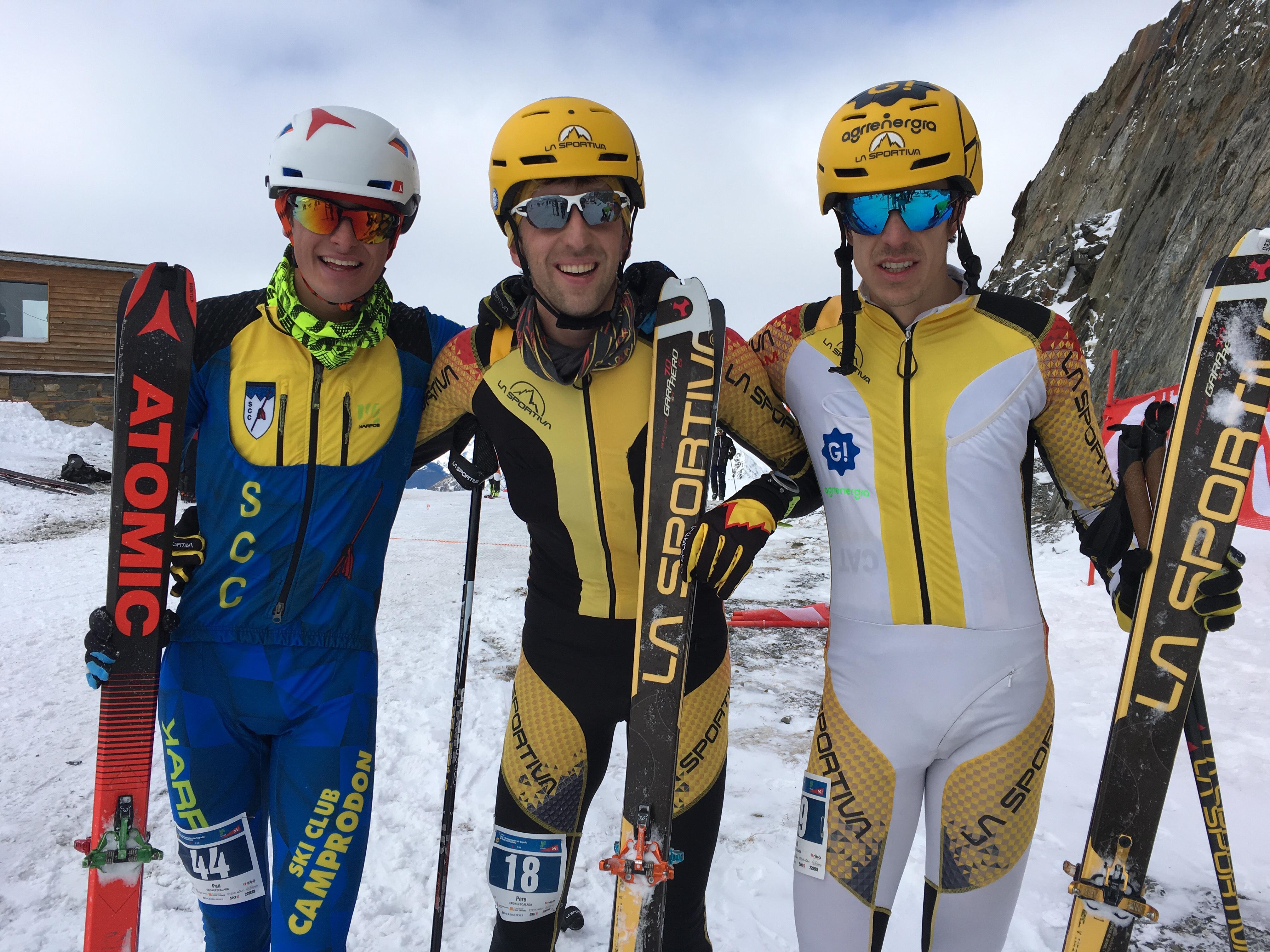 Esquí de Montaña: COPA DE ESPAÑA FEDME EN BAQUEIRA BERET. Campeones Vertical Pere Rullán y Ana Alonso. Crónica, resultados y fotos