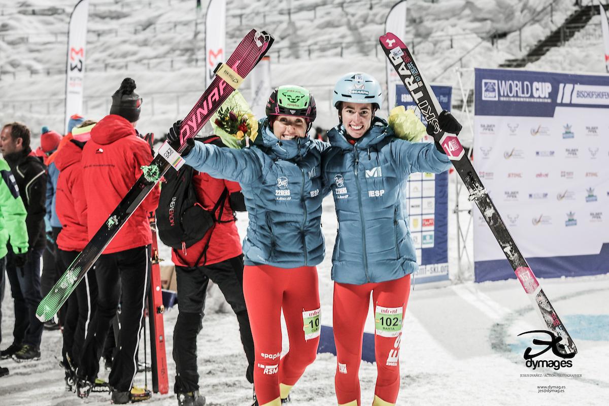 ARRANCA COPA MUNDO SKIMO EN AUSTRIA. Claudia Galicia Plata y Marta García Farres bronce en Sprint.
