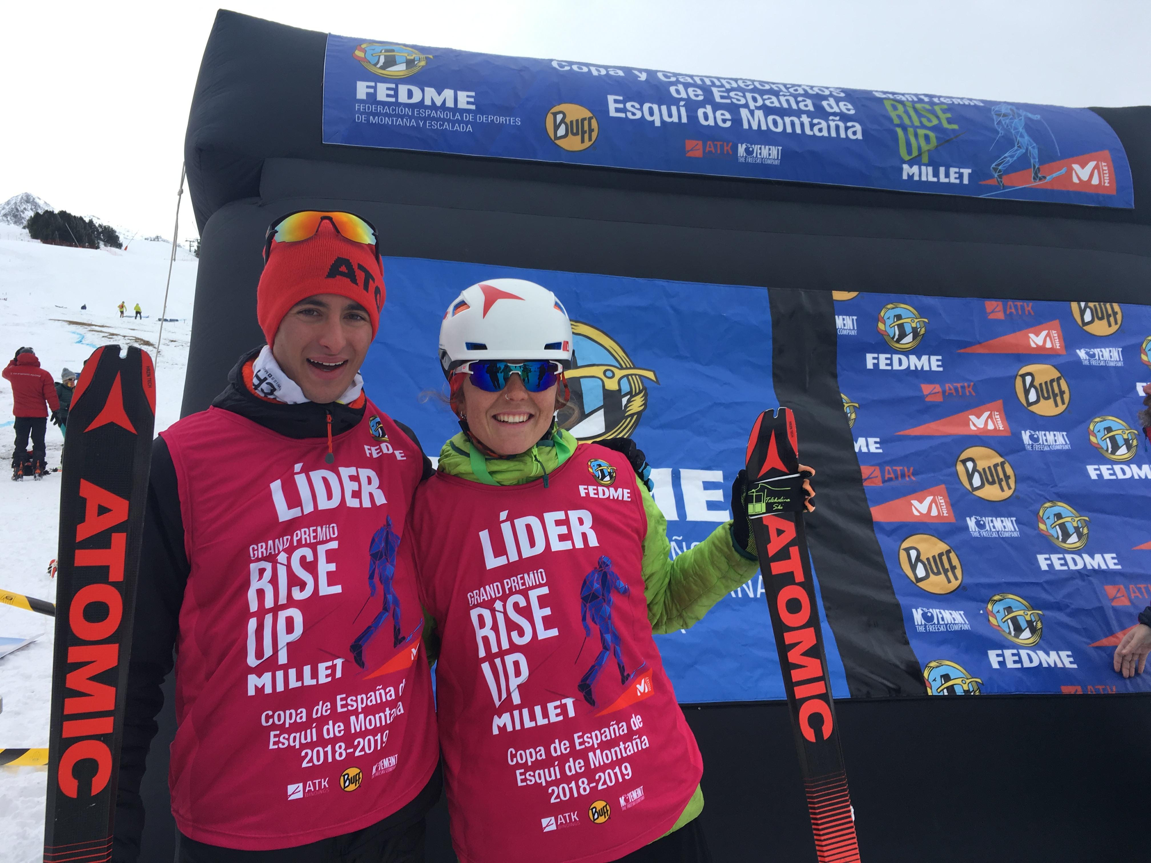 Esquí de Montaña: COPA DE ESPAÑA FEDME EN BAQUEIRA BERET. Campeones Sprint Pau Coll y Ana Alonso. Crónica, resultados y fotos