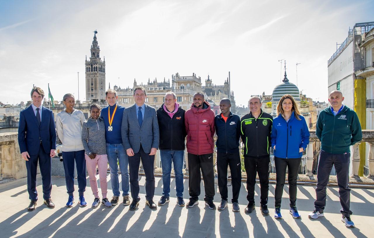 Maratón Sevilla 2.019 (17Feb) Nuevos records, con 13.000 dorsales en carrera. Ultima hora previo carrera. Trazado y favoritos.