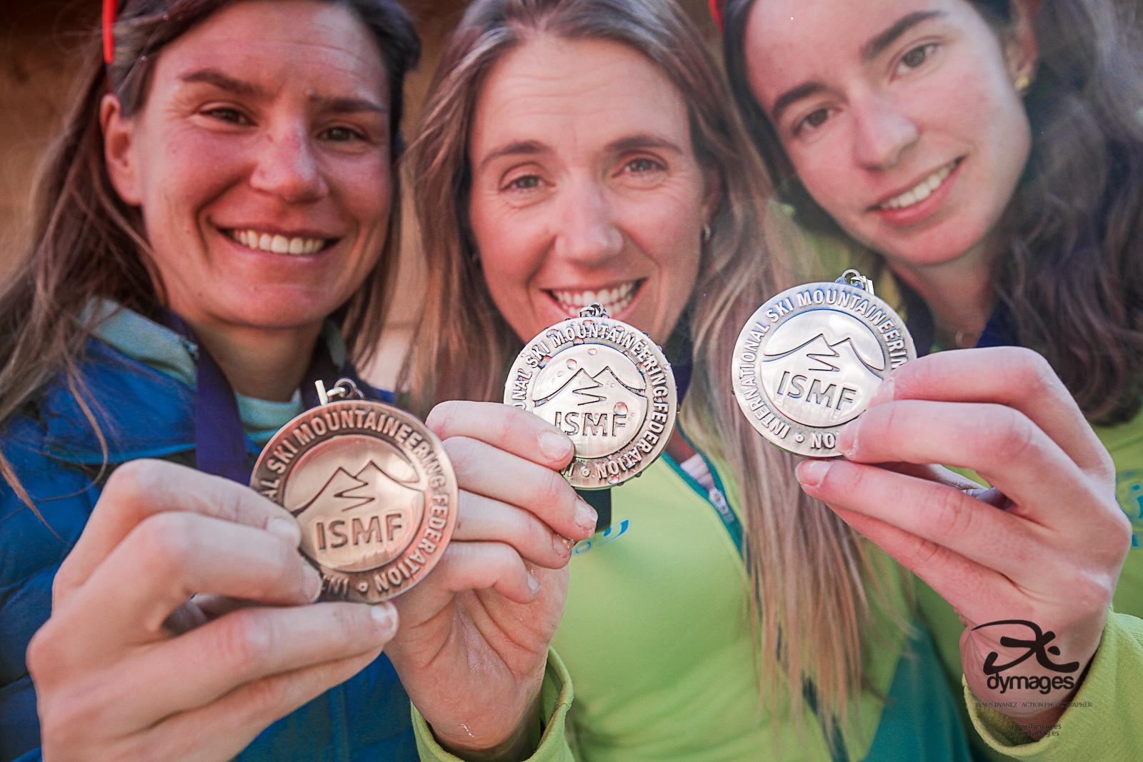Esquí de Montaña: MUNDIAL SKIMO 2019 SUIZA. Oro RELEVOS para Italia (M) y Francia (F) España logra plata femenina y bronce masculino.