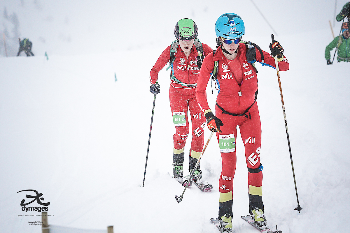 Esquí de Montaña: MUNDIAL SKIMO 2019 SUIZA. Oro EQUIPOS para Martí-Bonnet y Bonnel-Mollaret. Marta García y Claudia Galicia 4ª; Oriol Cardona y Marc Pinsach 11º.