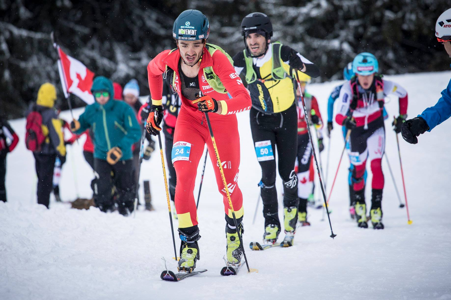 Esquí de Montaña: MUNDIAL SKIMO 2019 SUIZA. Oro Vertical para Werner Marti (SUI) y Andrea Mayr (AUT). Claudia Galicia 6ª; Oriol Cardona 8º.