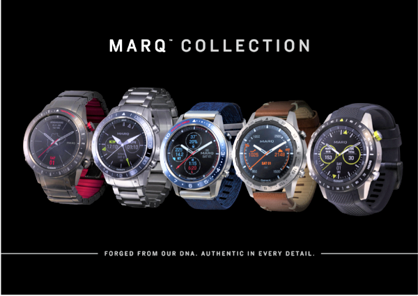 Garmin Marq: Cinco relojes de alta gama. Garmin Marq Aviator; Garmin Marq Driver; Garmin Marq Captain; Garmin Marq Expedition y Garmin Mark Athlete