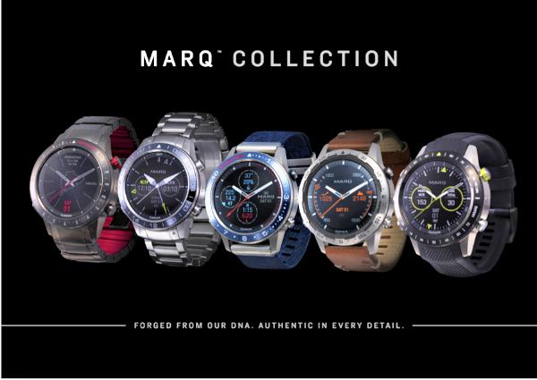 Garmin Marq: Cinco relojes de alta gama. Garmin Marq Aviator; Garmin Marq Driver; Garmin Marq Captain; Garmin Marq Expedition y Garmin Mark Athlete