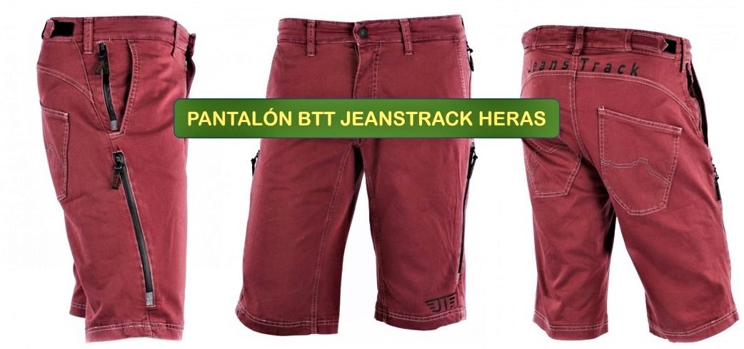JEANS TRACK HERAS: pantalones MTB y casual. Análisis TÉCNICO Y PRUEBA por Mambrú López