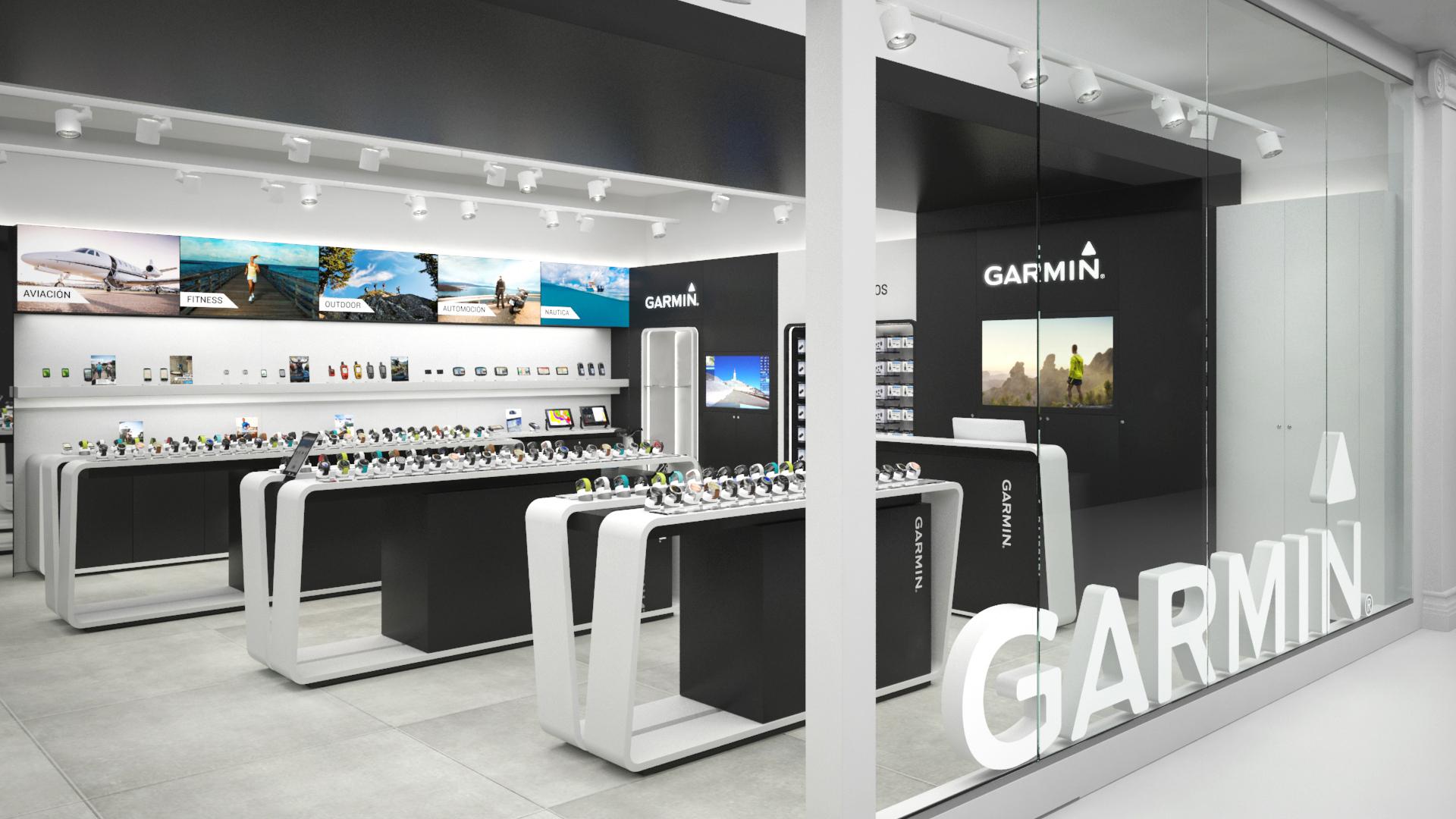 Tienda Garmin Madrid: Nuevo Garmin Store en Plaza Norte 2, San Sebastián de las Reyes Más Garmin Store de la marca en España.
