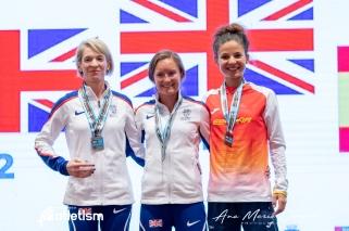 mundial ultrafondo 50k 2019 bronce españa Alicia perez 2