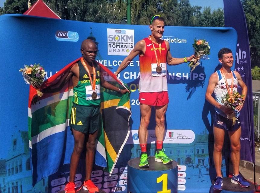 ESPAÑA SUMA ORO Y BRONCE EN MUNDIAL ULTRAFONDO 50KM: Iraitz Arrospide oro y record Europa. Alicia Pérez, bronce.