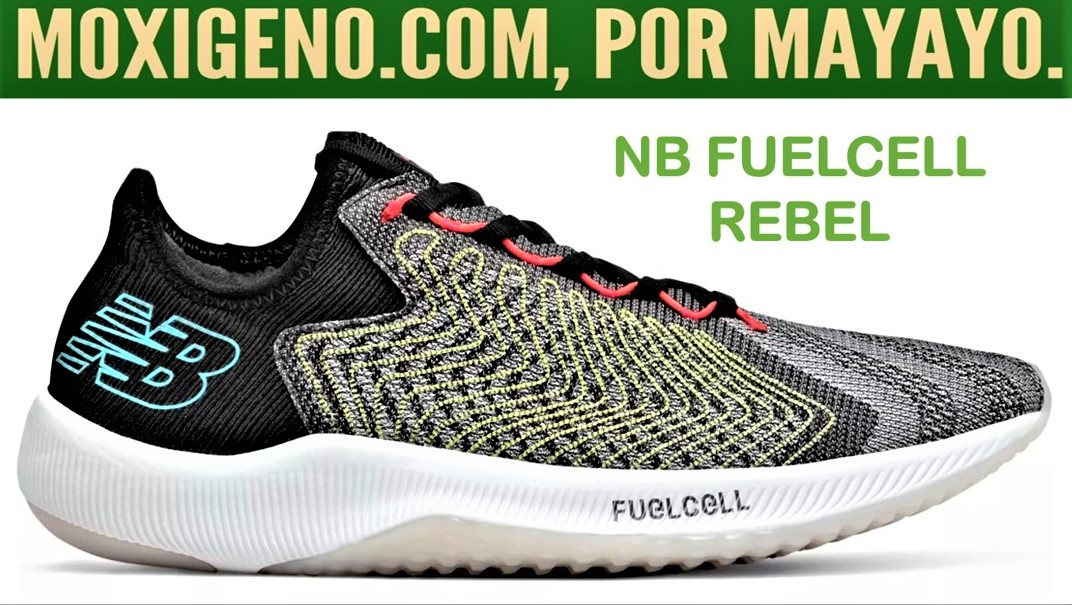 NEW BALANCE FUEL CELL REBEL: Zapatilla running mixta voladora de New Balance. (207gr/drop6mm)