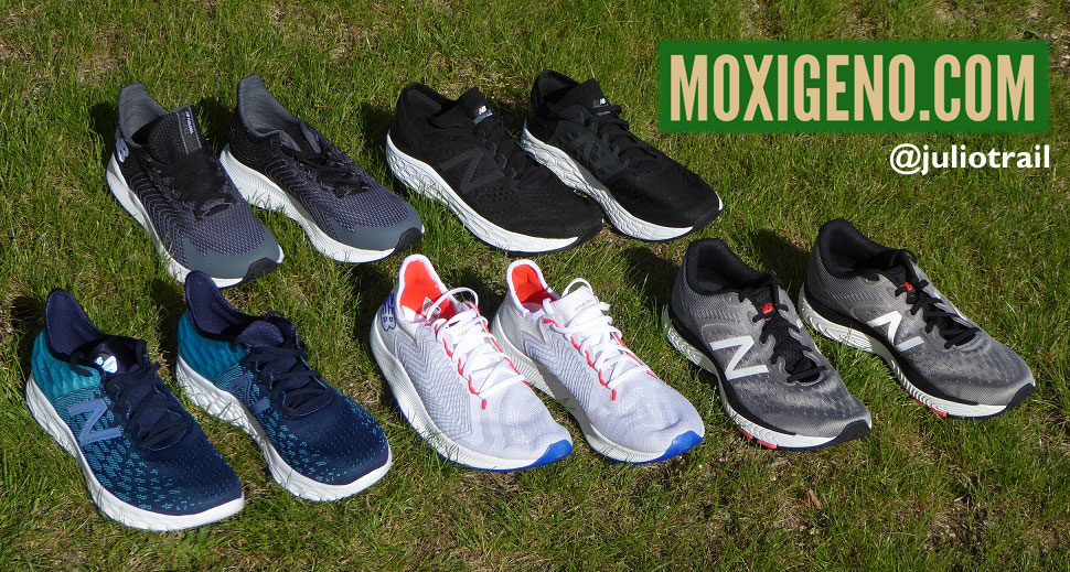 ZAPATILLAS NEW BALANCE RUNNING 2019-2020: FUELCELL REBEL Y PROPEL, NB BEACON V2; NB VONGO V4, NB SOLVI V2